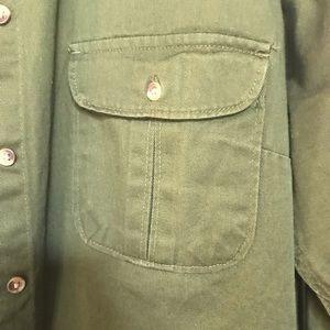 Merona Jackets & Coats - Cute Green Denim Jacket